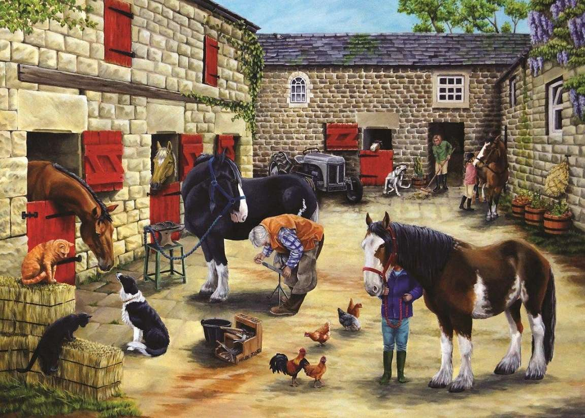 << In the Country >> - Landscape puzzle (11×8)
