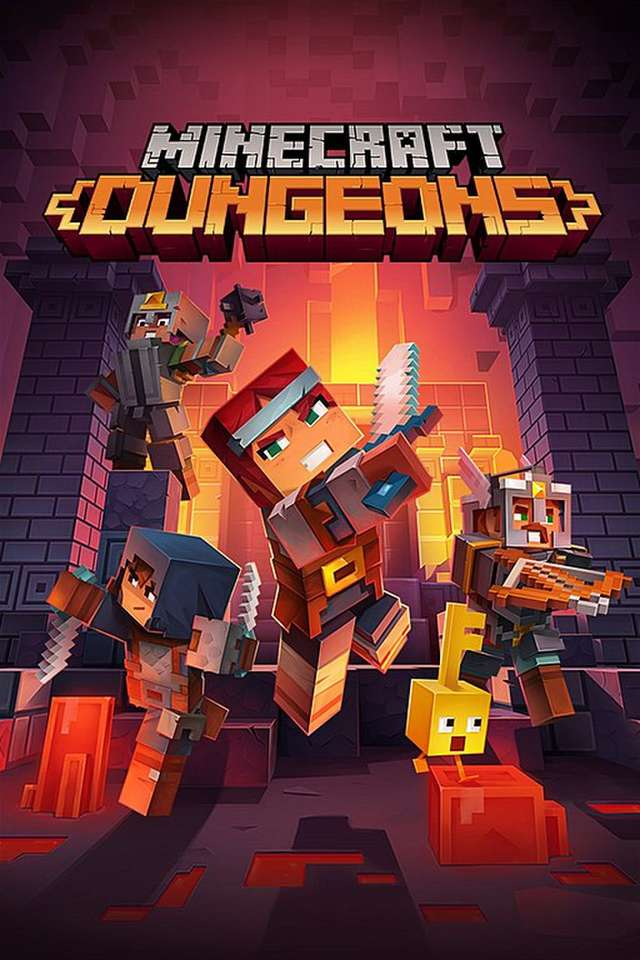 Minecraft Dungeons - very fun game i recommend minecraft dungeons (8×12)