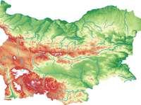 Χάρτης της Βουλγαρίας