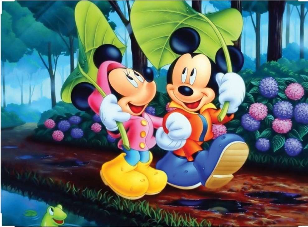 Mini și mouse-ul Mickey - Distrează-te, băieți (9×7)