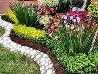 Een heerlijke tuin