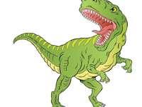 Puzzle- Dzień dinozaurów