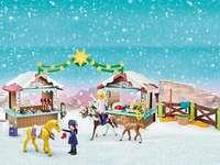 μπλοκ - Χριστουγεννιάτικη αγορά