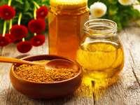 miód z pyłku pszczelego