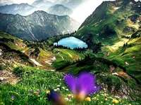 Bavorské Alpy.