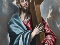 Christ carrying the cross (painting by El Greco)