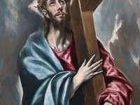 Krisztus, aki a keresztet hordozza (El Greco festménye)