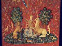 Lady with a unicorn (series of tapestries)