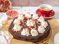 ciasto kawowo- czekoladowe