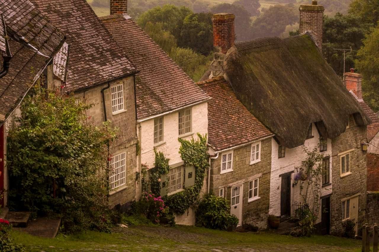 Gold Hill - Shaftesbury - Velká Británie (15×10)