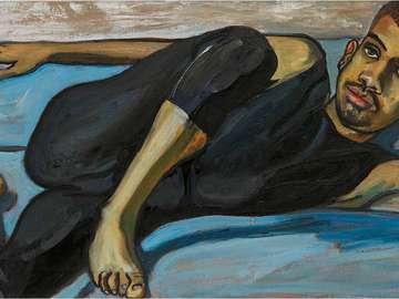 """""""Balletdanseres"""" (1950) Alice Neel"""