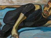 """""""Ballet Dancer"""" (1950) Alice Neel"""