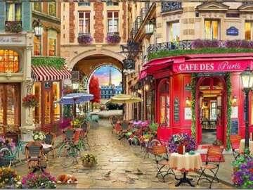 Frankrike. Paris.
