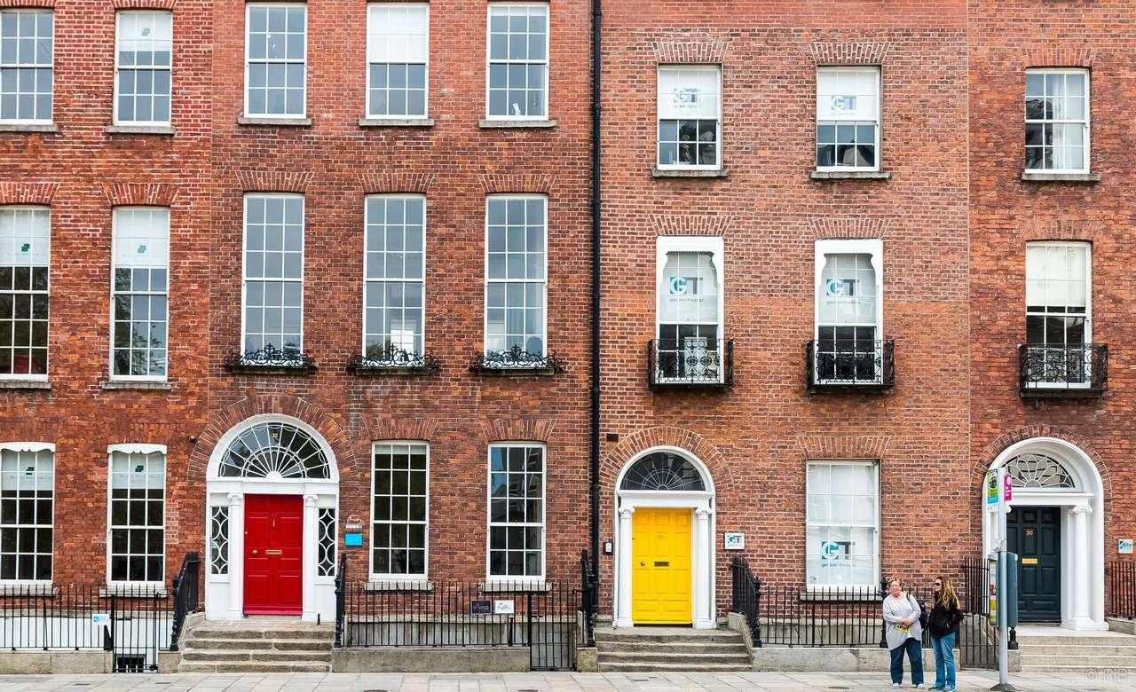 Dublin, Irsko - Dublinské budovy - Irsko (16×10)