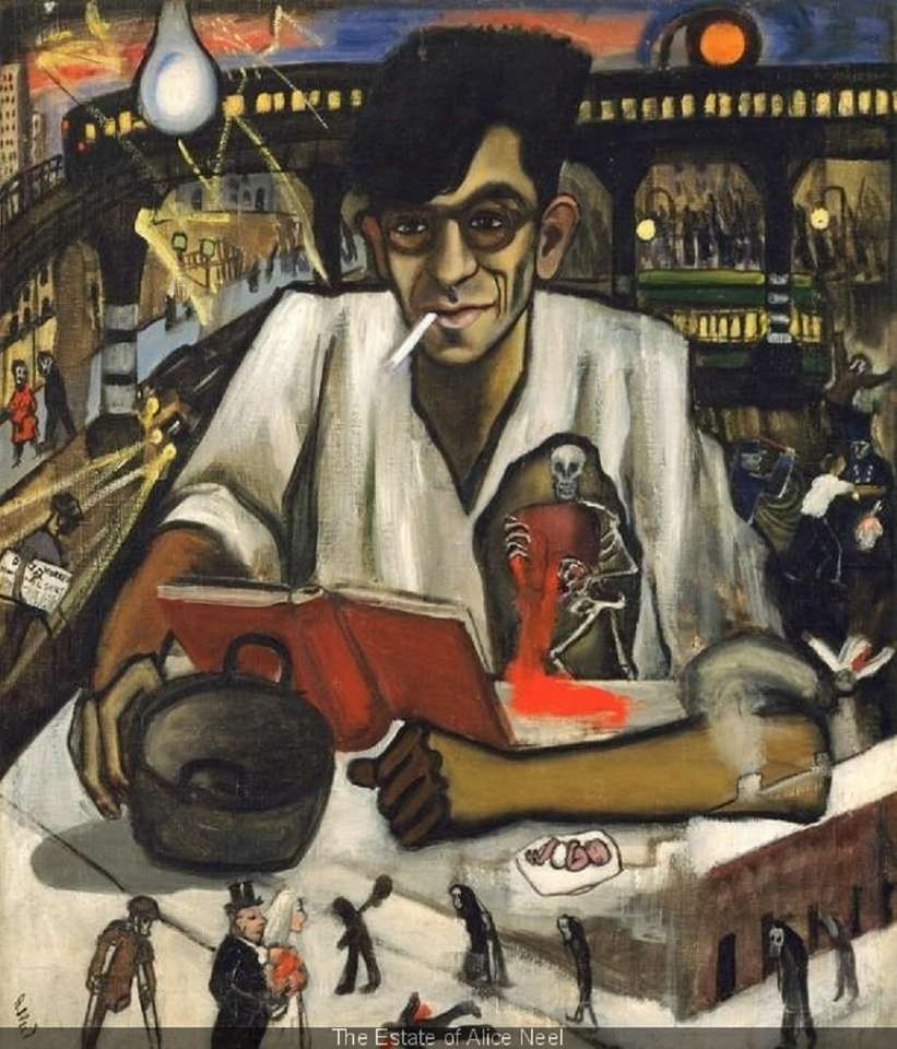 """""""The Estate"""" door Alice Neel - Het is dus door zijn penseel dat zijn politieke betrokkenheid het meest wordt gevoeld. Wanneer Alice Neel naakten schildert, komt ze tevoorschijn uit alle kanonnen die vervolgens worden opgesteld door (12×15)"""