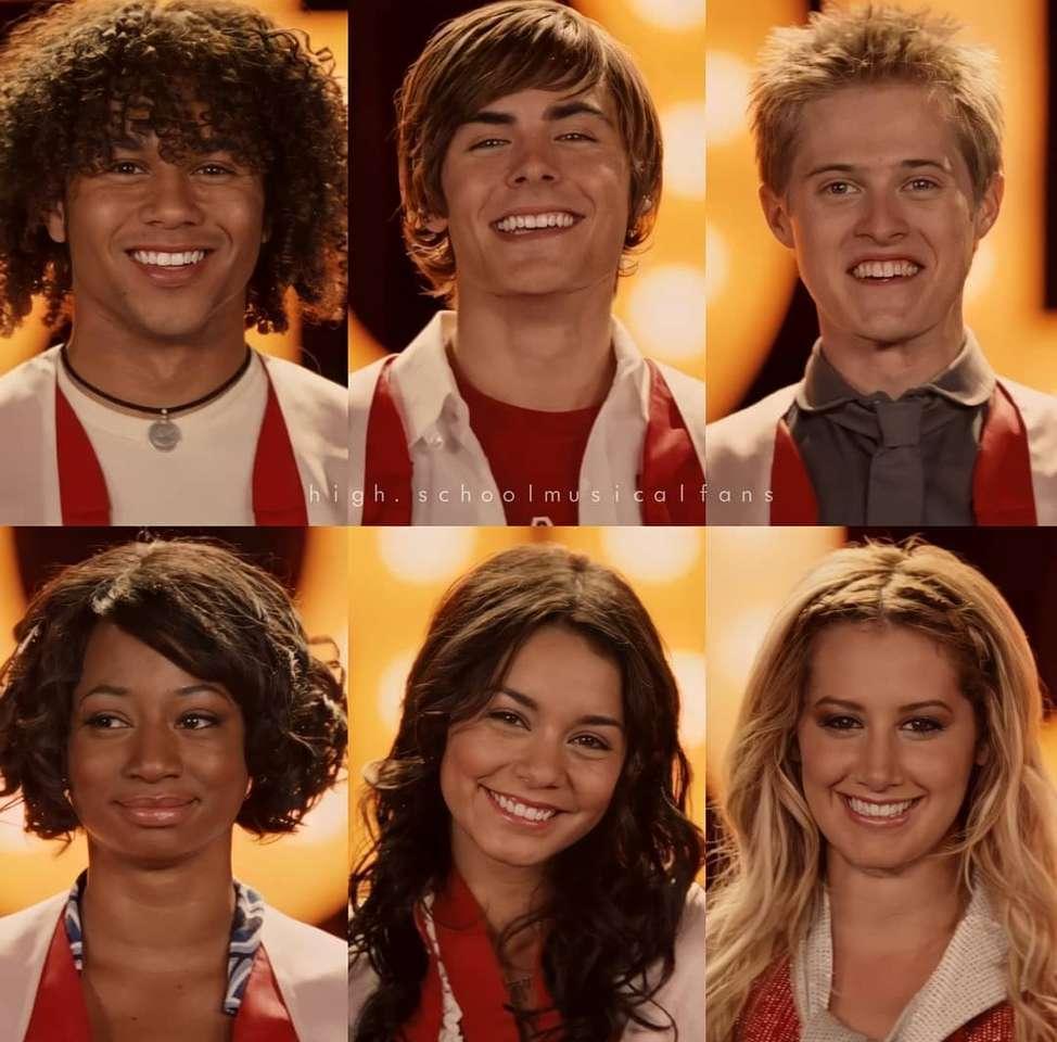 Musical de secundaria - High School Musical: una serie de películas musicales (2×2)