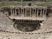 Romeins theater in Hierapolis