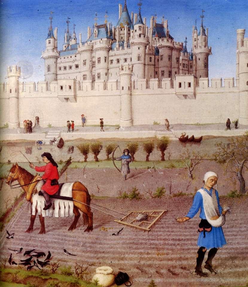mondo feudale - il mondo feudale e i suoi personaggi (10×12)