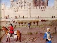 świat feudalny