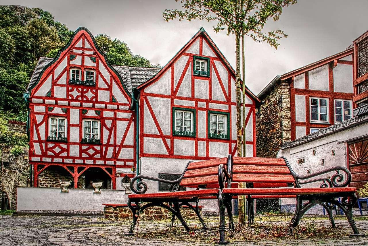 Építészet - színes házak ----------- (13×9)