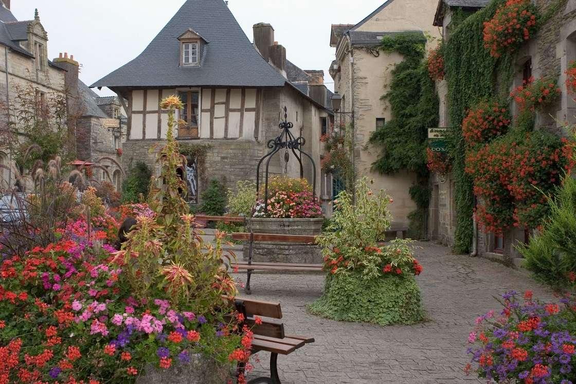Rochefort-en-Terre - Frankrike. Rochefort-en-Terre (13×9)