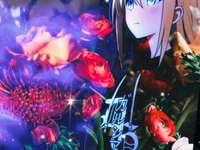 Anime flicka