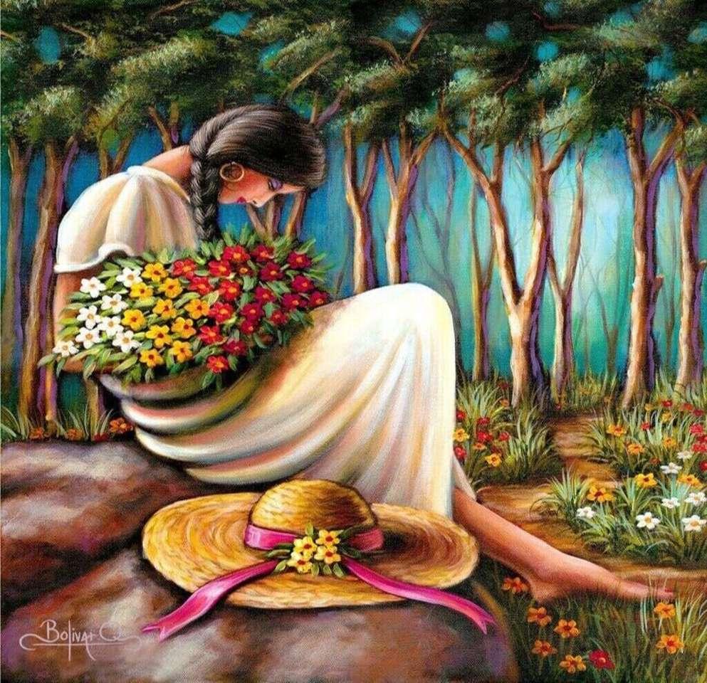Belleza del Perú - Belleza peruana en plena ensoñación (9×9)