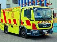 Viatura de bombeiros espanhola