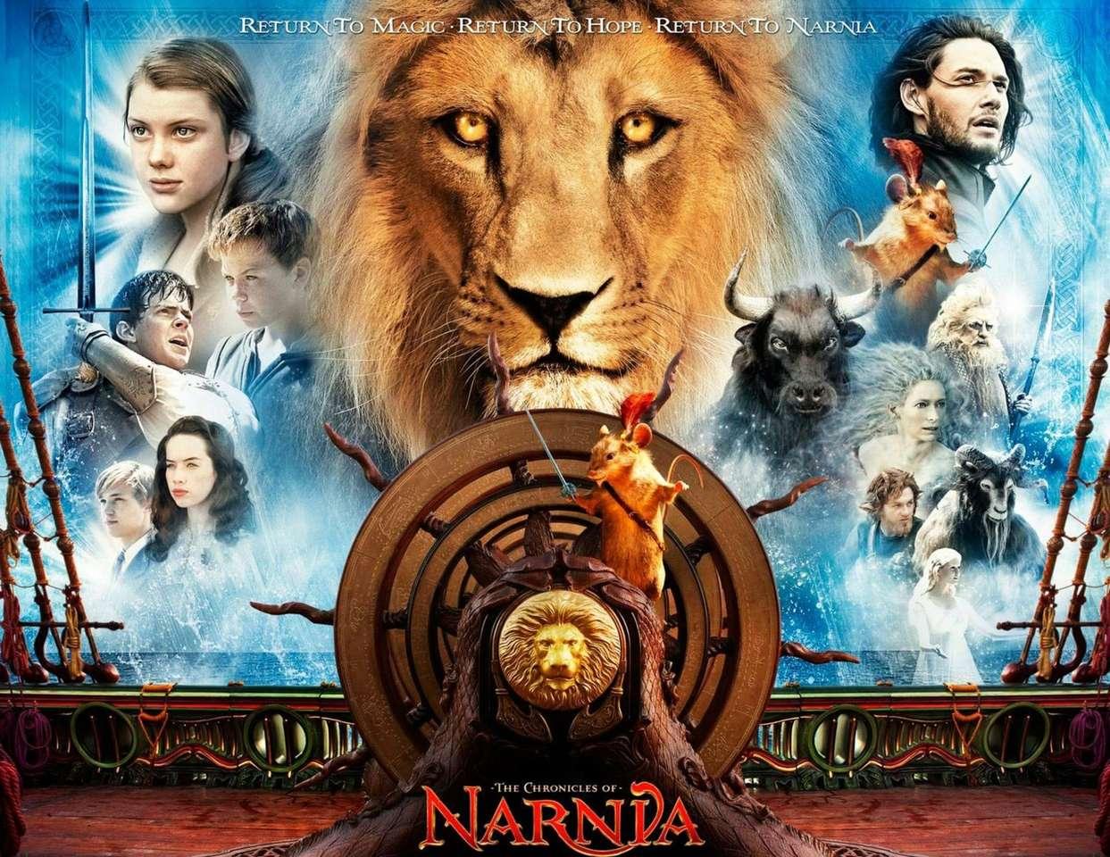 As crônicas de Nárnia - é um filme sobre um leão que morre para salvar crianças as crônicas de Nárnia (9×7)