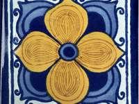 Talavera csempe - Emelet De Arabe