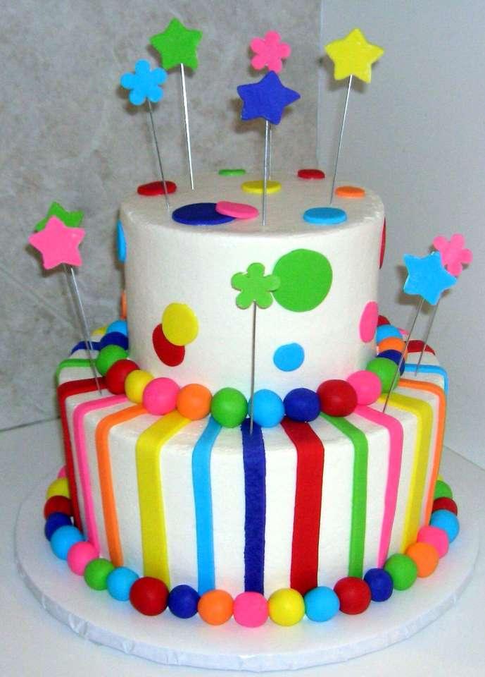 Κέικ ουράνιου τόξου
