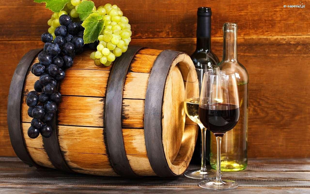 σταφύλια για κρασί - Μ (14×9)
