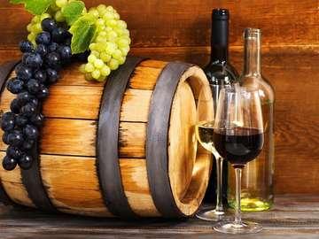 Trauben für Wein