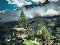 Schweizer Atmosphäre.
