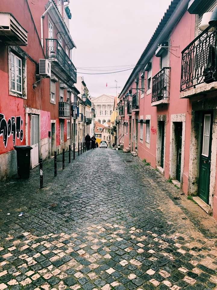 Rua da Cruz dos Poiais - Лисабон - Португалия (11×15)
