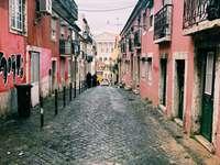 Rua da Cruz dos Poiais - Lisabon - Portugalsko