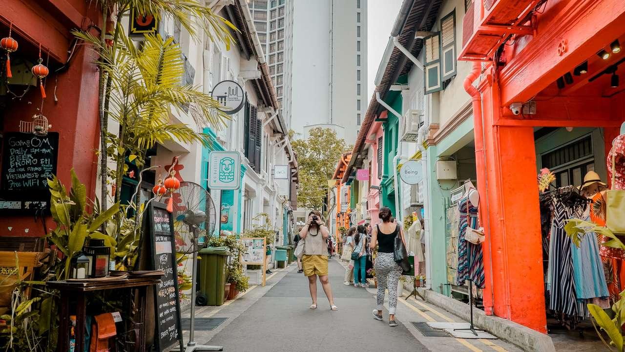 Haji Lane - Singapur (15×9)