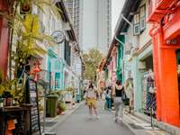 Haji Lane - Singapur