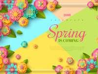la primavera sta arrivando