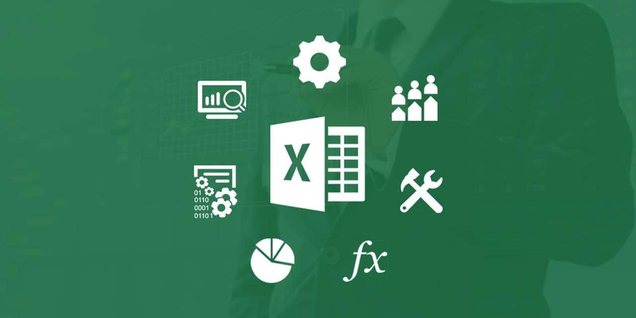 Excel für den Grundraum - Setze das folgende Puzzle zusammen (8×4)