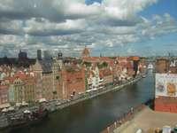 Panorama Gdańska z Koła