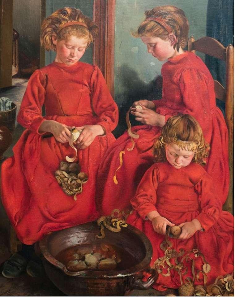 všechny dívky jsou v červeném (15×20)