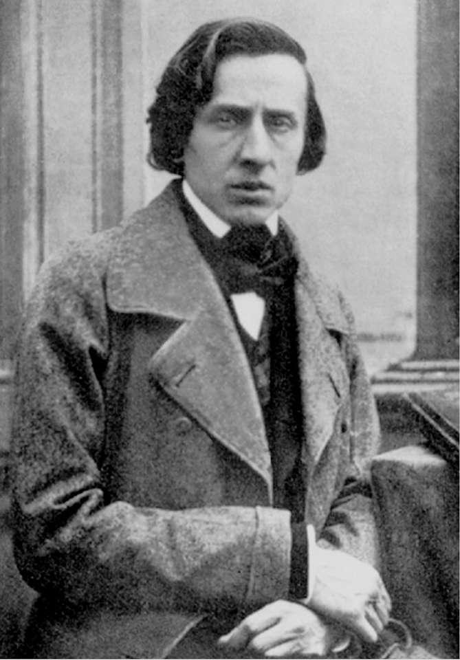 Fryderyk Chopin - po ułożeniu puzzli zobaczysz jedyne, zachowane zdjęcie F. Chopina wykonane rok przed śmiercią (4×6)