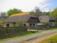 Göcsej Dorfmuseum in Ungarn