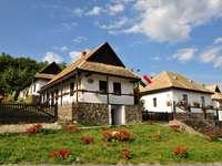 Hollokö Museum Village in Hungary
