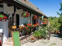 Hollokö Museum Village in Hongarije