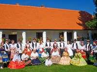 Costumi ungheresi di arte popolare