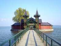 Keszthely nad jeziorem Balaton na Węgrzech