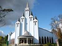 Igreja no Lago Balaton na Hungria