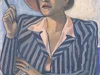 Žena namalovaná Alice Neel